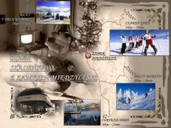 mapka narciarska